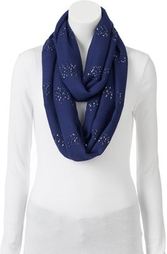 Apt. 9 Sequin Striped Infinity Scarf