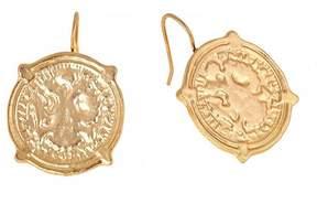 Fornash Calypso Coin Earrings