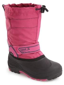 Kamik Snowcoast Waterproof Snow Boot (Little Kid & Big Kid)