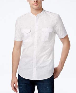GUESS Men's Paint-Dot Cotton Shirt
