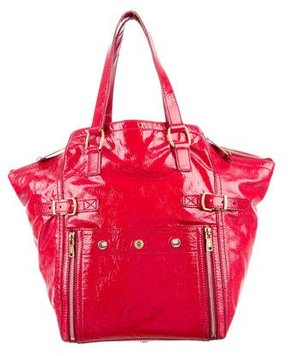 Saint Laurent Downtown Tote - RED - STYLE