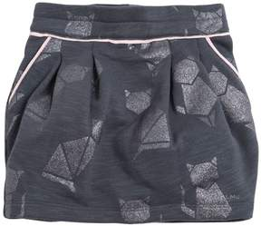Little Marc Jacobs Burnout Cotton Mini Skirt