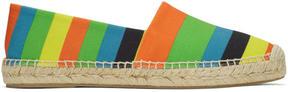 Paul Smith Multicolor Striped Sunny Espadrilles