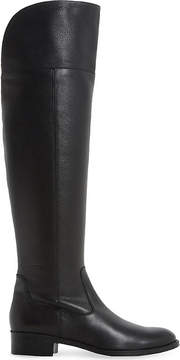Dune Taylor leather over-the-knee boot