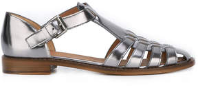 Church's metallic flat sandals
