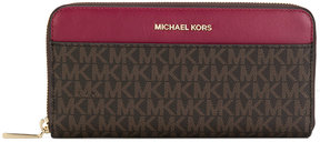 MICHAEL Michael Kors Mercer logo continental wallet - BROWN - STYLE