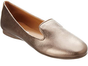 French Sole Gin Leather Smoking Slipper