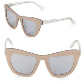 Vera Wang 52MM Butterfly Sunglasses