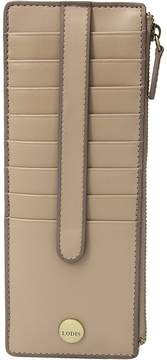 Lodis Rodeo RFID Credit Card Case with Zipper Pocket