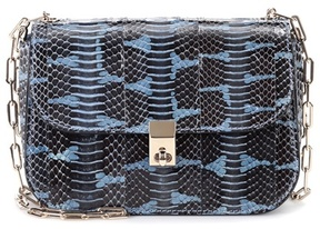 Valentino All Over Chain snakeskin shoulder bag