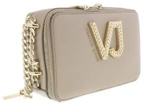 Versace EE1VRBBC2 Beige Shoulder Bag