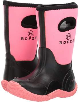 Roper Barnyard Cutie Girls Shoes