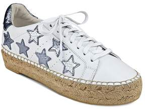 Marc Fisher Marcia Star Espadrille Lace Up Sneakers