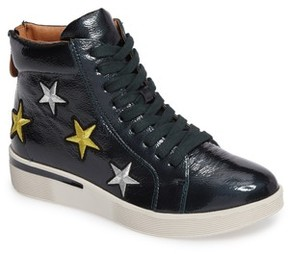 Gentle Souls Women's Helka Star High Top Sneaker