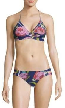 6 Shore Road by Pooja La Playa Triangle Bikini Top