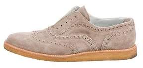 Common Projects Suede Wingtip Brogues