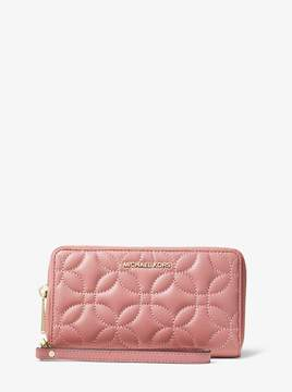 MICHAEL Michael Kors Large Quilted Leather Smartphone Wristlet