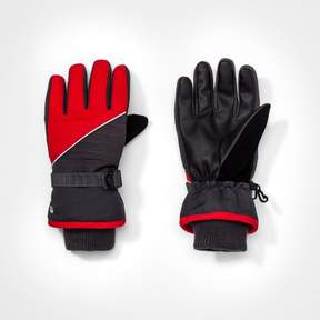 Champion Boys' Colorblock Gloves Gray/Red