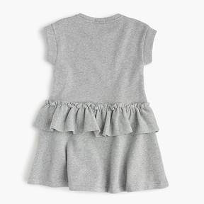 J.Crew Girls' ruffle-trimmed short-sleeve dress