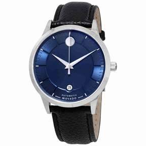 Movado 1881 Automatic Blue Dial Men's Watch 0607020