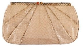 Judith Leiber Python Evening Bag