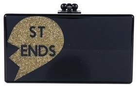 Edie Parker Jean Best Friends Clutch