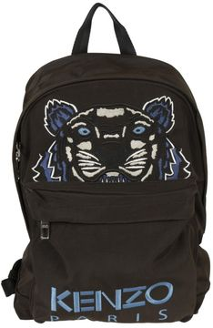 Kenzo Embroidered Tiger Head Backpack