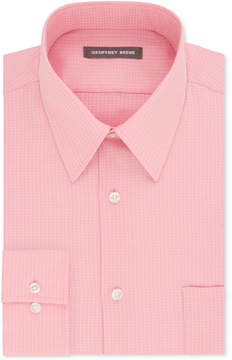 Geoffrey Beene Men's Fitted Wrinkle-Free Broadcloth Dress Shirt