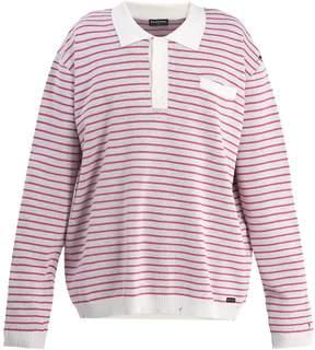 Balenciaga Long-sleeved striped polo shirt