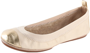 Yosi Samra Women's Samantha Cap-Toe Leather Flat
