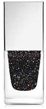 Givenchy Le Vernis Glittery Black Top Coat/0.3 oz.