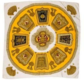 Hermes Poste et Cavalerie Silk Scarf