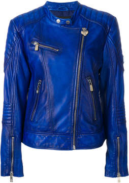 Frankie Morello leather biker jacket