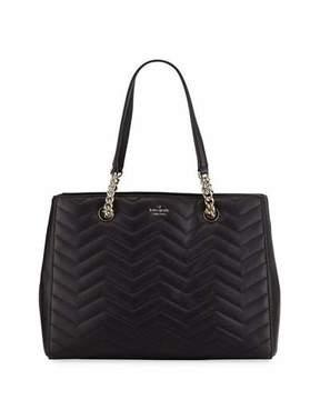 Kate Spade Reese Park Courtnee Leather Shoulder Tote Bag