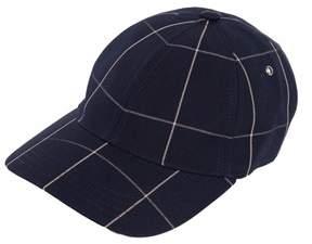 A.P.C. Men's Blue Cotton Hat.