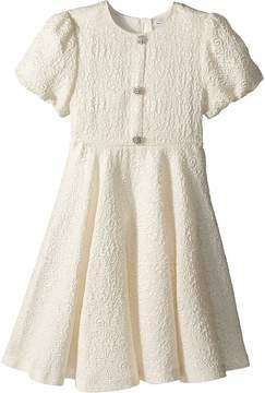 Dolce & Gabbana Short Sleeve Dress Girl's Dress