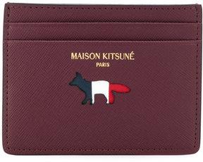 Maison Kitsuné fox pattern cardholder
