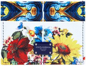 Dolce & Gabbana Printed Dauphine Card Holder - MULTI - STYLE