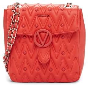 Mario Valentino Valentino By Mabiche Leather Shoulder Bag