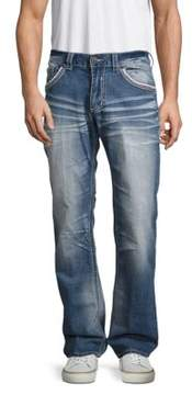 Affliction Ace Fleur Chica Five-Pocket Jeans