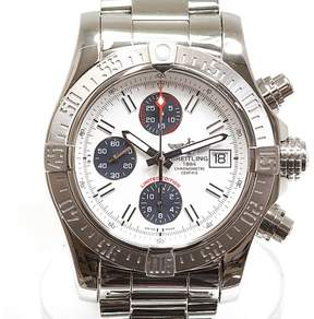 Breitling Avenger II A13381 Stainless Steel Automatic 43mm Mens Watch