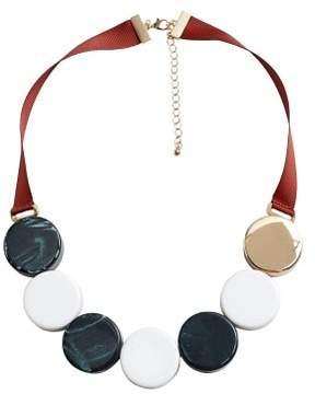 Violeta BY MANGO Mixed bead necklace