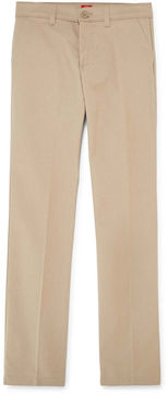 Dickies Flat-Front Twill Pants - Girls 7-16