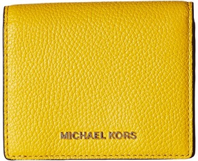 MICHAEL Michael Kors Mercer Flap Card Holder Credit card Wallet - ADMIRAL - STYLE