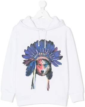 Marcelo Burlon County of Milan Kids wolf print hoodie