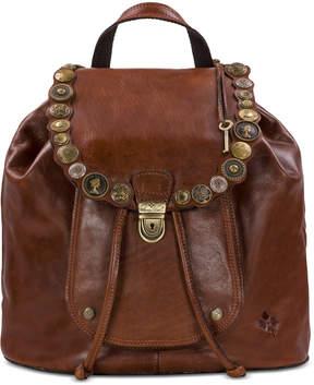 Patricia Nash Studded Hardware Casape Backpack
