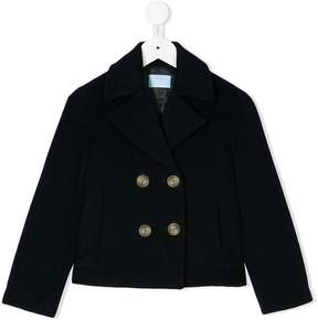 Lanvin Enfant double breasted coat