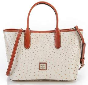 Dooney & Bourke Ostrich Collection Brielle Satchel - PEARL - STYLE