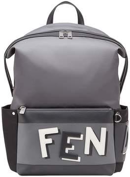 Fendi shadow logo backpack