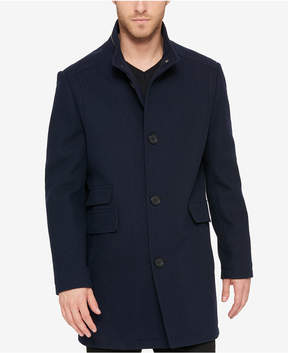 Kenneth Cole Men's Textured Car Coat